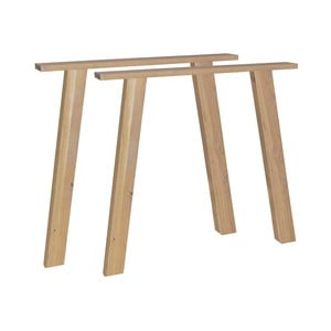 Podnoží k jídelnímu stolu z dubového dřeva vtwonen Outline