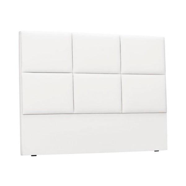 Tăblie tapițată pentru pat THE CLASSIC LIVING Aude, 200x120cm, alb
