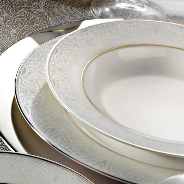 24-częściowy zestaw talerzy porcelanowych Kutahya Panija