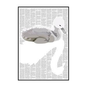 Knižní plakát Ošklivé káčátko, 21x29,7 cm