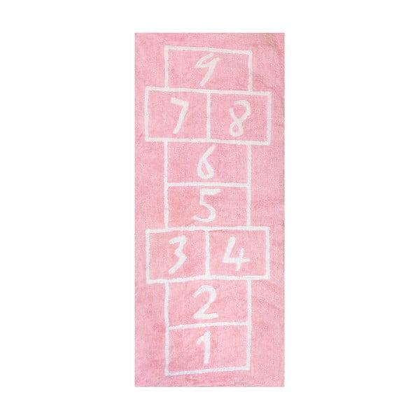 Koberec Pata Coja 200x90 cm, růžový