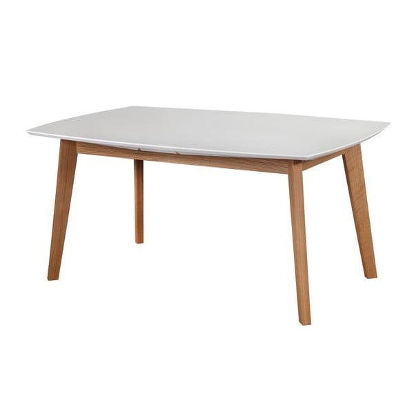 Biały stół rozkładany Dřevotvar Ontur 35, 160x100 cm