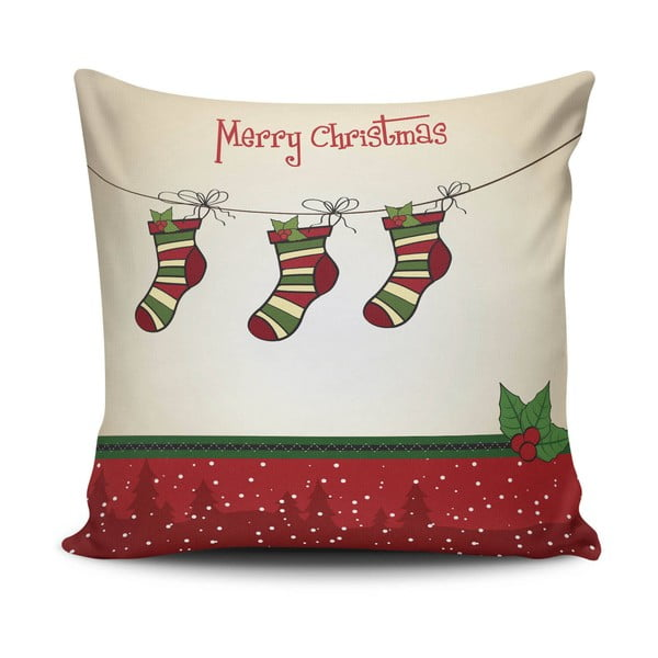Polštář Christmas Pillow no. 27, 45x45 cm