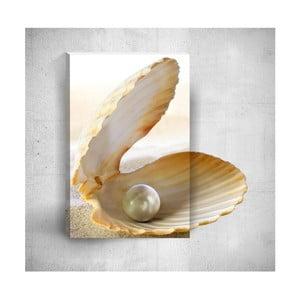 Nástěnný 3D obraz Mosticx Seashell With Pearl, 40 x 60 cm