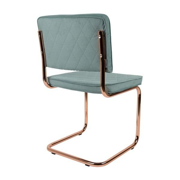 Sada 2 světle modrých židlí Zuiver Diamond
