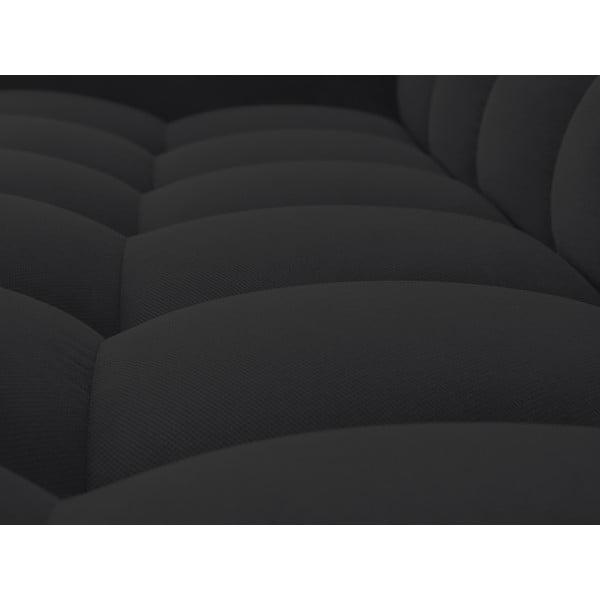Černá trojmístná pohovka Windsor & Co Sofas Moon