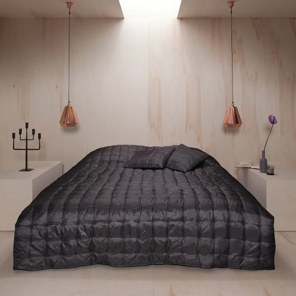 Přehoz přes postel Versailles Basalt, 220x270 cm