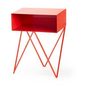 Červený příruční stolek &New Robot
