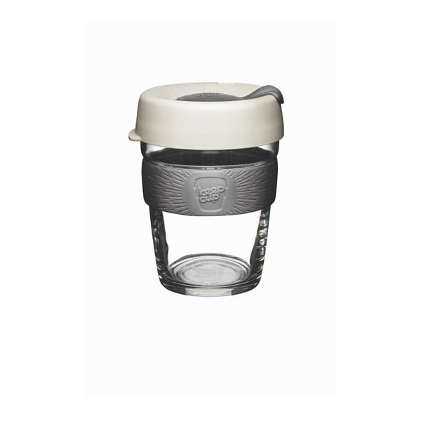 Pahar de voiaj cu capac KeepCup Brew Milk, 340 ml