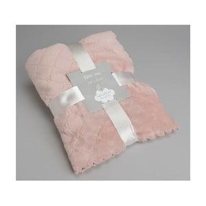 Deka Delicat Pink, 100x75 cm