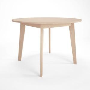 Rozkládací jídelní stůl z březového dřeva Artemob Sandra