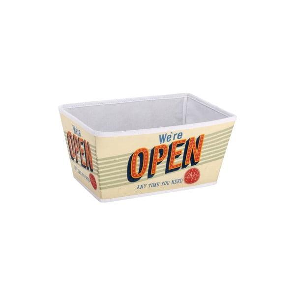 Retro košík Open, 23x30 cm