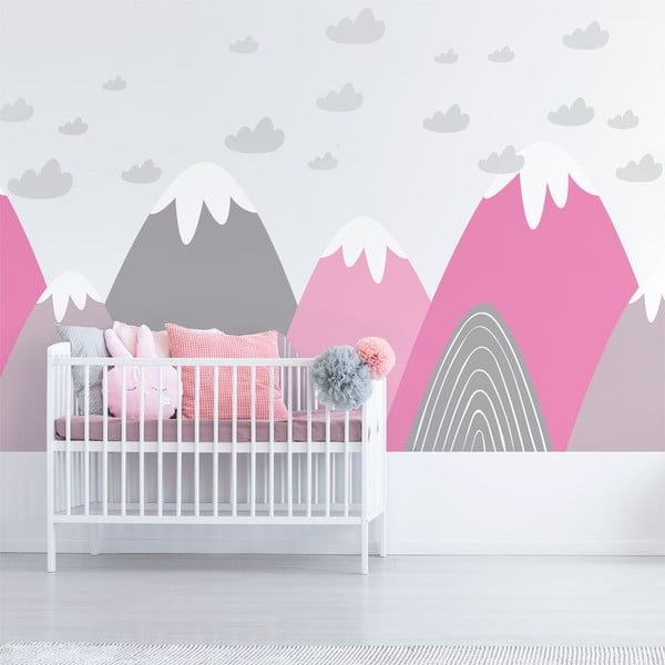 Autocolant Ambiance Scandinavian Giant Mountains Elika