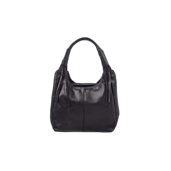 Kožená kabelka Soft Mood Black