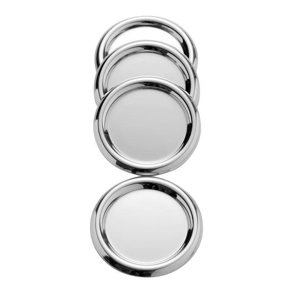 Set 4 suporturi pahar Steel Function Coasters