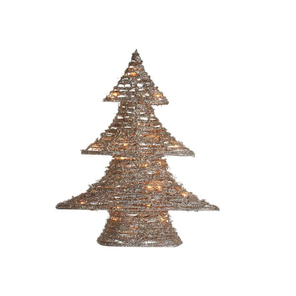 Svítící stromeček Gold Tree