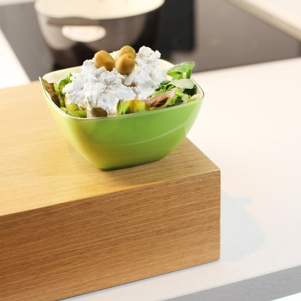 Zelená salátová mísa Vialli Design, 14cm
