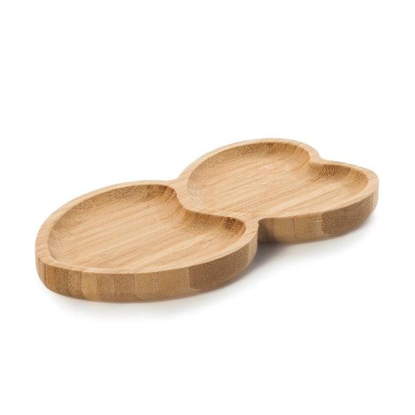 Heart szervírozó bambusz tálka - Bambum