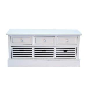 Lavíce se zásuvkami White Bench