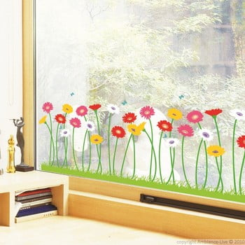 Set autocolante Garden of flowers