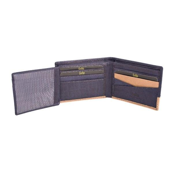 Kožená peněženka Lois Blue, 11x8 cm