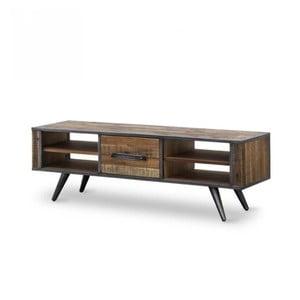 TV komoda z masivního akáciového dřeva Massive Home Robbie, 150 x 50 cm