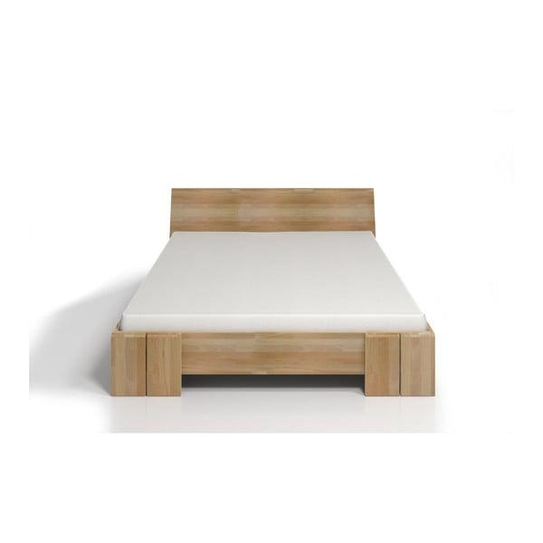 Pat dublu din lemn de fag SKANDICA Vestre Maxi, 160 x 200 cm