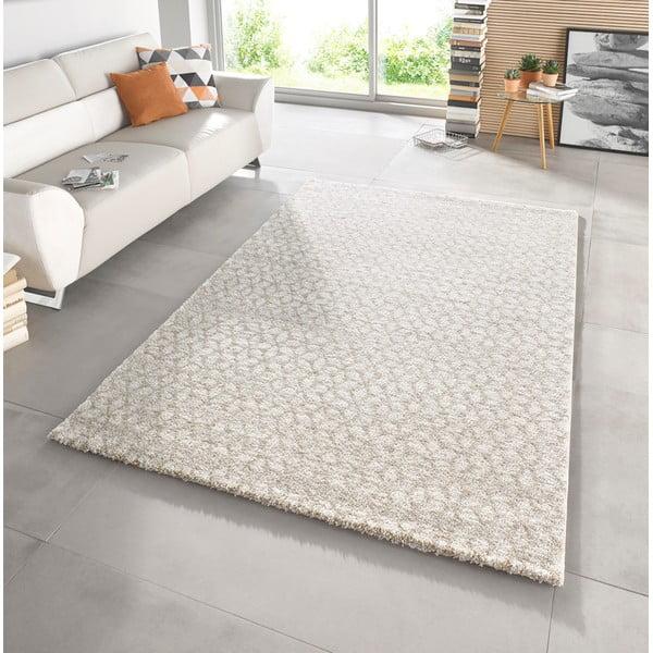 Béžový koberec Mint Rugs Triangles, 120x170cm