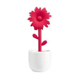 Sítko na čaj se stojánkem Red Flower