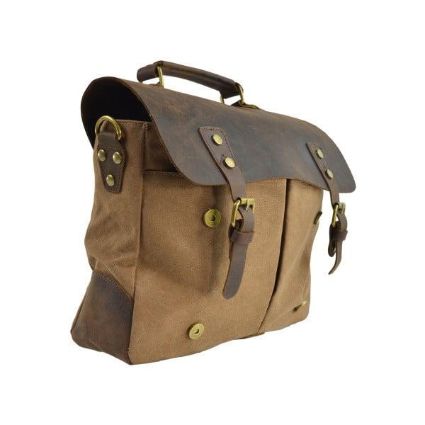 Taupe taška Briefcase
