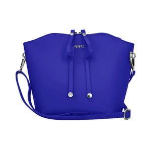 Modrá kožená kabelka Lampoo Kalina