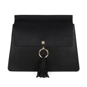 Černá kabelka z eko kůže Beverly Hills Polo Club Sylvia