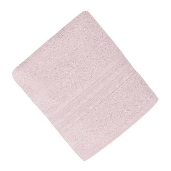 Jasnoróżowy ręcznik Lavinya,50x90cm