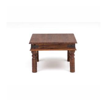 Masă de cafea din lemn de salcâm WOOX LIVING Thakat Opium, 60 x 60 cm de la WOOX LIVING