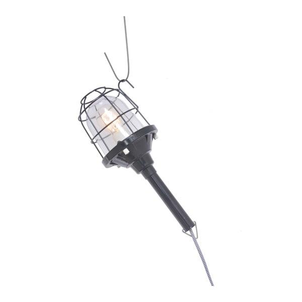 Přenosná lampa Faro, černá
