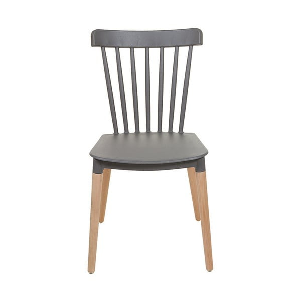 Šedá židle Santiago Pons Rin