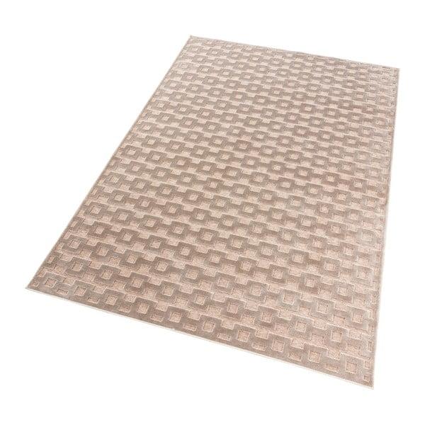 Hnědo-měděný koberec Mint Rugs Shine, 120 x 170 cm