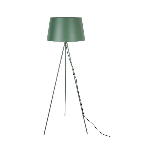 Tmavozlenástojacia lampa Leitmotiv Classy