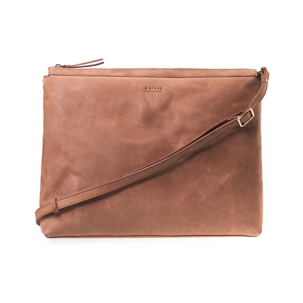 b224333814 Hnědá hnědá crossbody kabelka s popruhem O My Bag ...