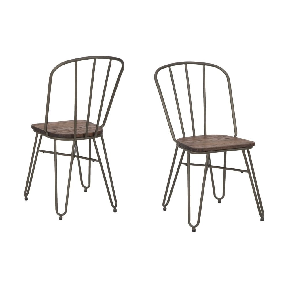 Sada 2 židlí Mauro Ferretti Detroit