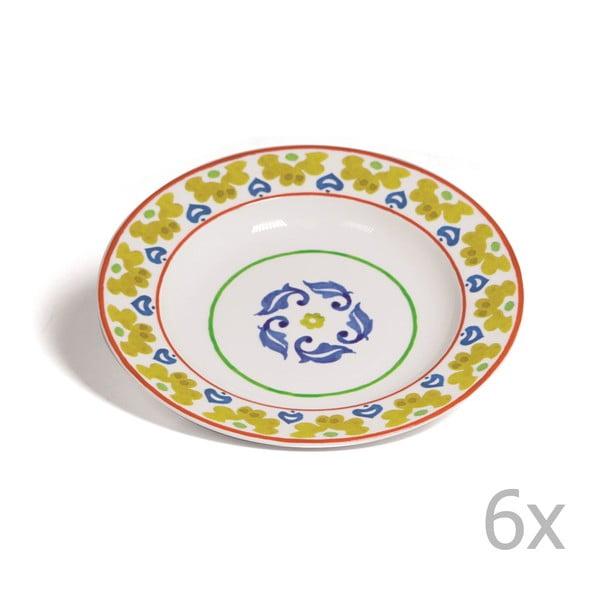 Sada 6 polévkových talířů Toscana Montalcino, 22.5 cm