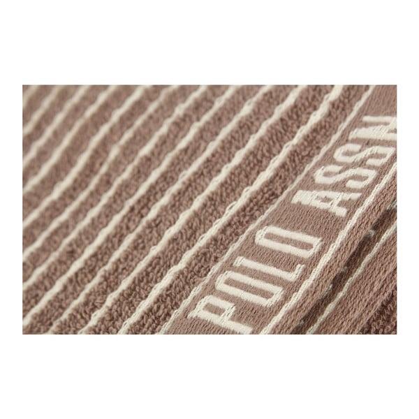 Sada 2 utěrek U.S. Polo Assn Sturgis Brown, 50x70 cm