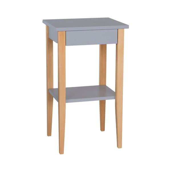 Šedý odkládací stolek Ragaba Entlik