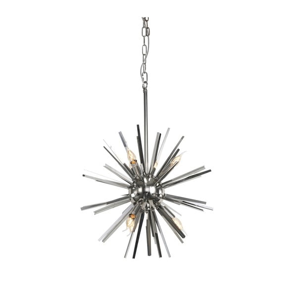 Funchal ezüstszínű mennyezeti lámpa, ⌀ 56 cm - Artelore