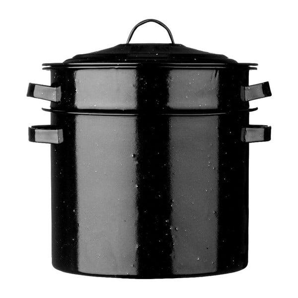 Oală paste Premier Housewares Black, 28 cm