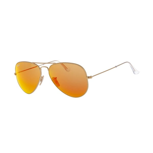 Ochelari de soare unisex Ray-Ban RB3025 Red Mirror/Gold 58 mm