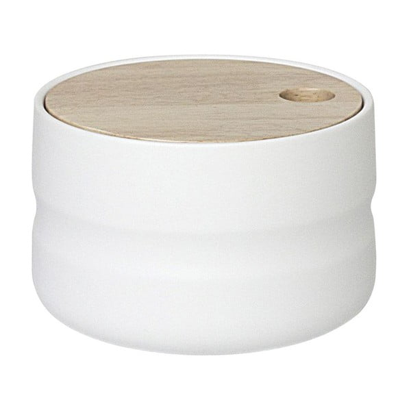 Keramická dóza Wooden Cover Medium