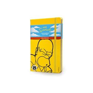 Zápisník Moleskine The Simpson III