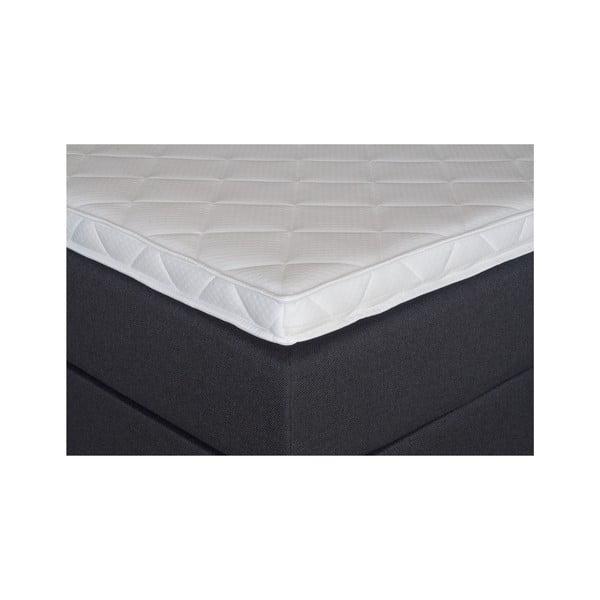 Černá postel s matrací Gemega Jolly, 140x200 cm