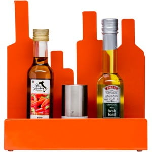 Oranžový kuchyňský stojánek Sagaform Stand